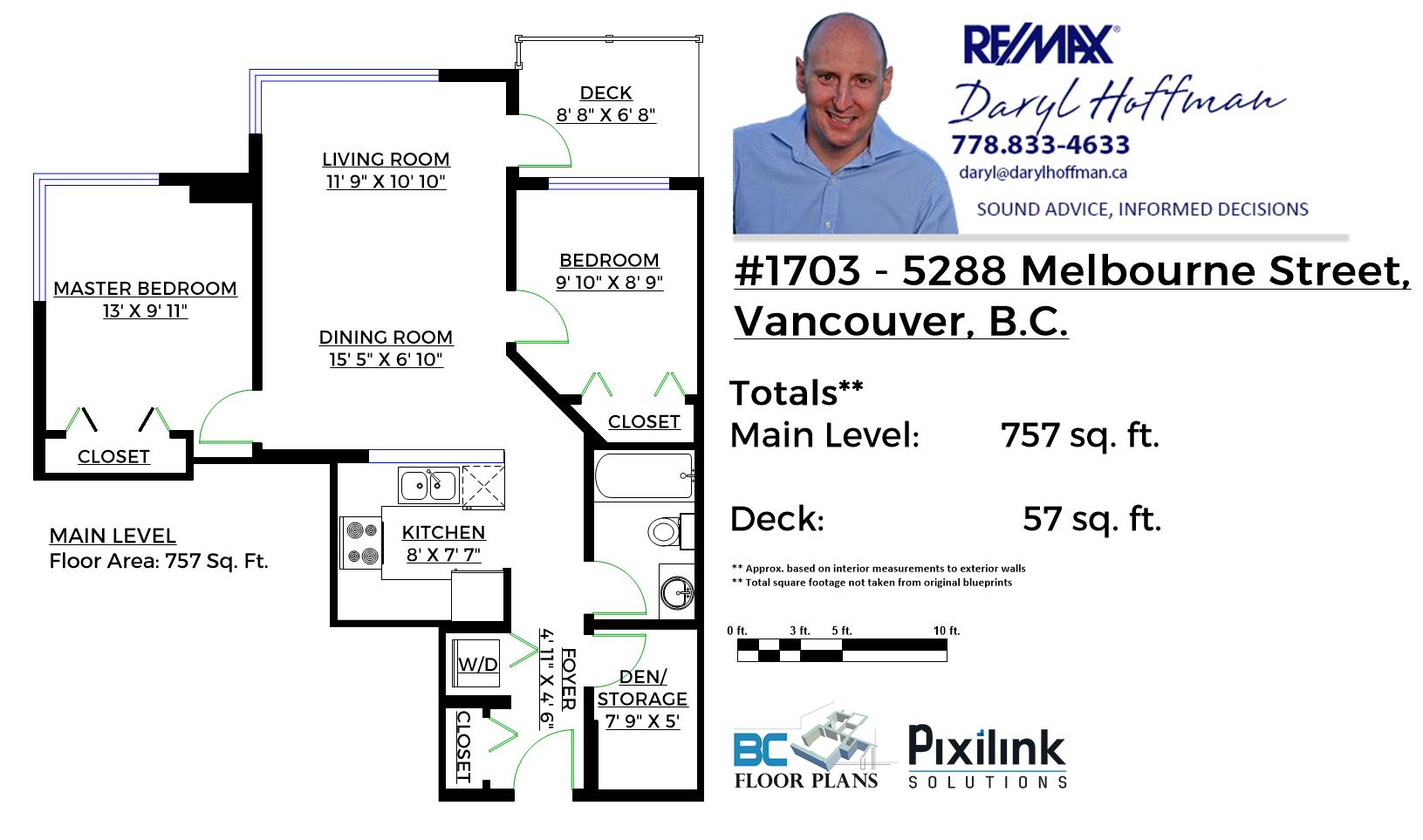 1703-5288 Melbourne Floor Plan
